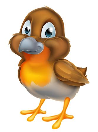 漫画ロビン鳥かわいいキャラクター マスコット