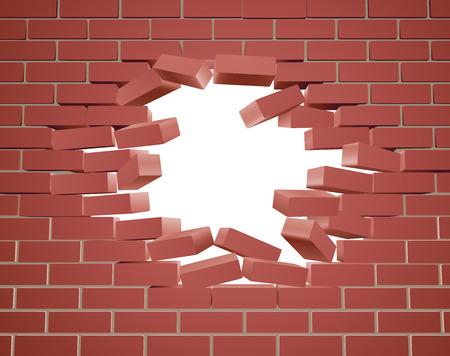 Przedzierając się przez mur z otworem