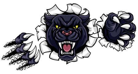 Zwarte Panther Claws Doorbraak