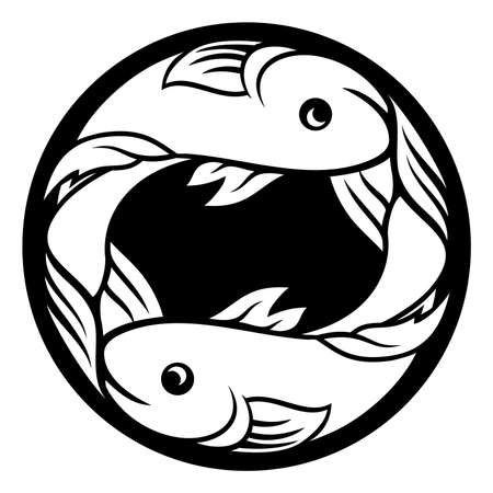 Pisces fish horoscope astrology zodiac sign symbol