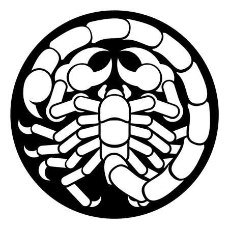 Zodiac Signs Scorpio Scorpion Icon