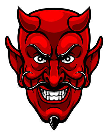 Devil Sports Mascot.