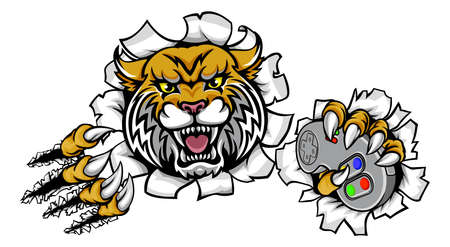 3 985 Wildcat Mascot Stock Vector Illustration And Royalty Free