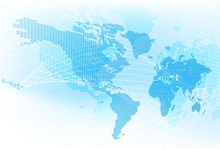 Światowa mapa Globalny Ziemski Abstrakcjonistyczny tło