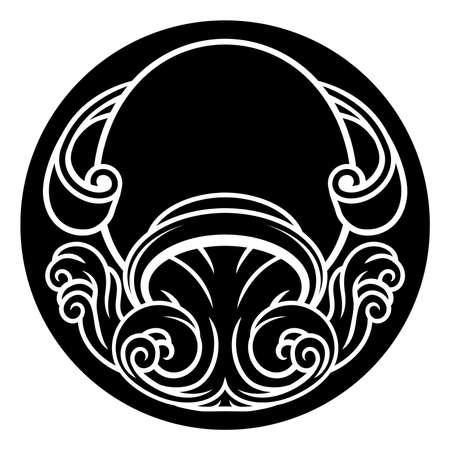 Aquarius sign.