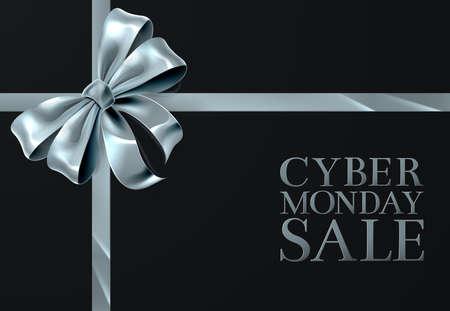 Conception de bannière de vente Cyber ??Monday. Vecteurs