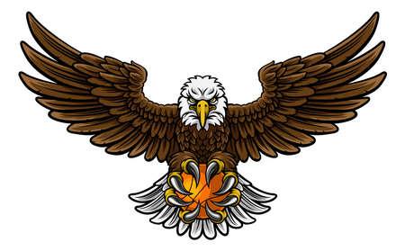 Eagle Basketball Sportmascotte