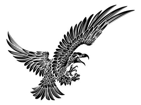 Eagle Bird Swooping