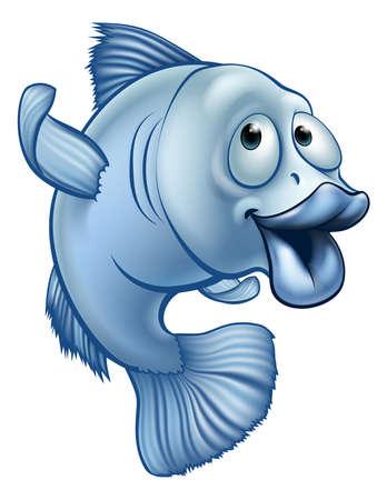 만화 물고기 캐릭터