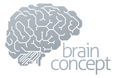 Brain Side Concept