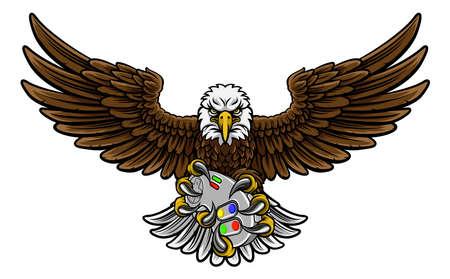 Eagle Esports Sports Gamer Mascot Reklamní fotografie - 90411509