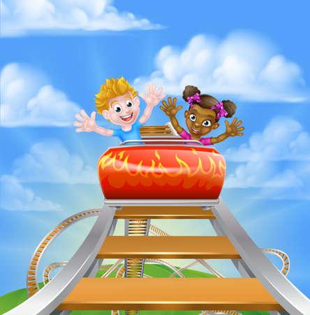 Achtbaan Fair Theme Park
