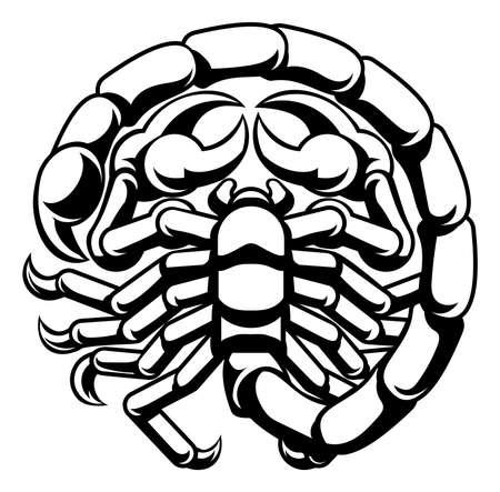 Scorpio Scorpion  Sign
