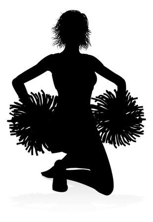 Silhouette Cheerleader