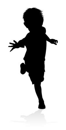 Kid Child Silhouette Illustration