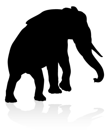 Elephant Animal Silhouette