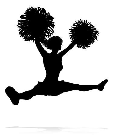 Silhouet Cheerleader