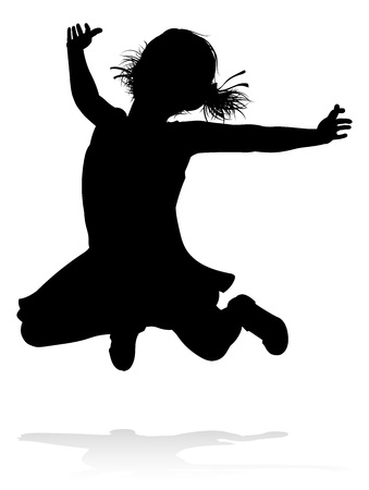 Kid Child Silhouette 向量圖像