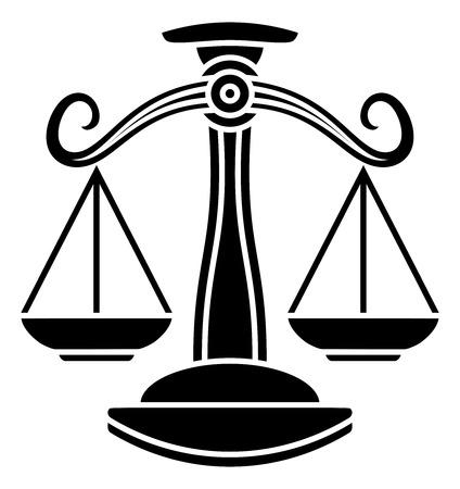 Libra scales horoscope astrology zodiac sign symbol