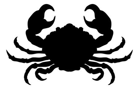 Crab Animal Silhouette