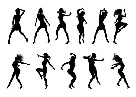Dance Dancer Silhouettes