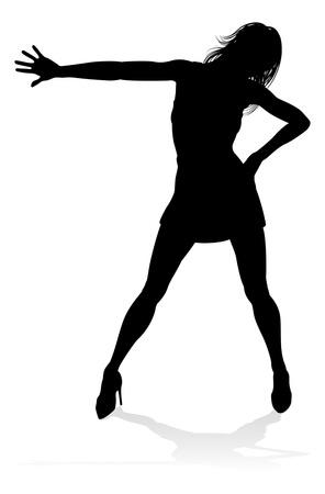 Dance Dancer Silhouette