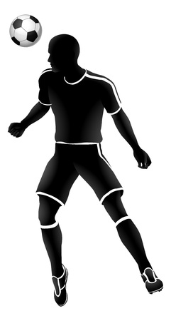 Soccer Player Sports Silhouette