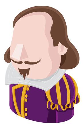 Shakespeare Man Avatar People Icon