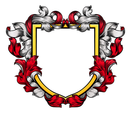 Coat of Arms Shield Crest Knight Heraldic Family