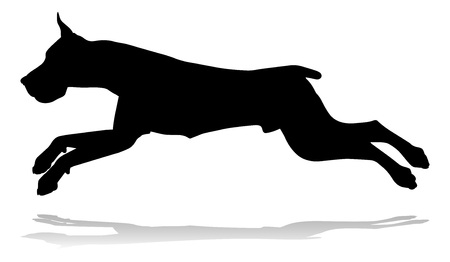 Dog Silhouette Pet Animal Vectores