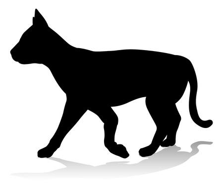 Cat Pet Animal Silhouette
