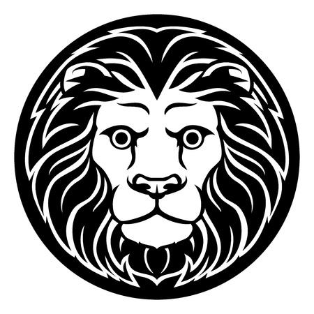 Zodiac Signs Leo Lion Icon