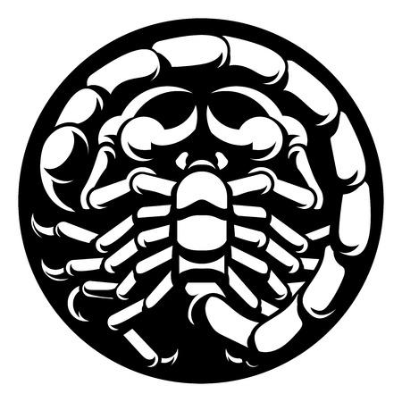 Signos del zodiaco Escorpio Escorpión