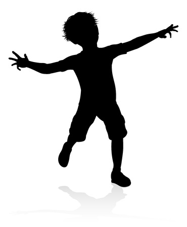Child Kid Silhouette Illustration