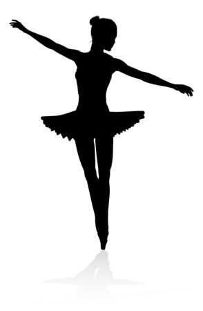 Ballet Dancer Silhouette