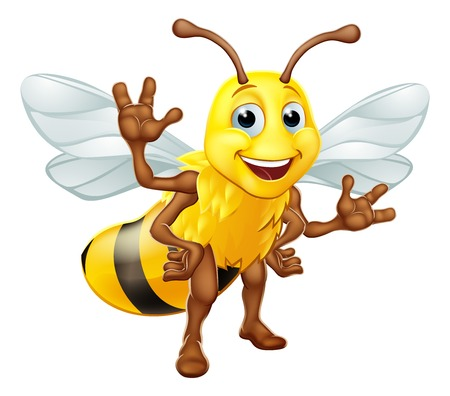 Bumble Honey Bee Bumblebee Cartoon Character