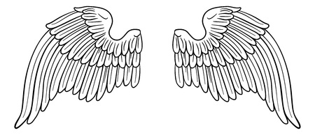 Wings Angel or Eagle Pair