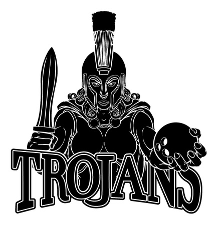 Spartan Trojan Gladiator Bowling Warrior Woman