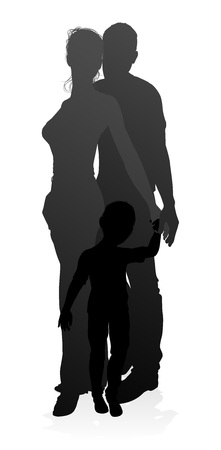 Family Detailed Silhouette