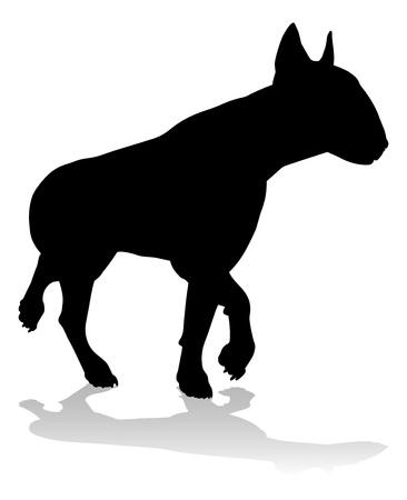 Dog Silhouette Pet Animal Çizim