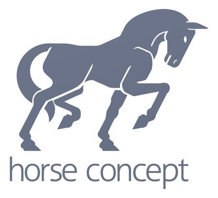 Horse Concept Stok Fotoğraf - 130165568