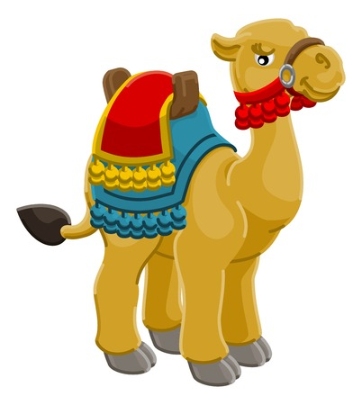 Camel Animal Cartoon Character