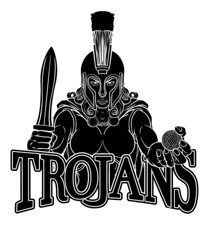 Spartan Trojan Gladiator Golf Warrior Woman