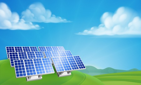Solar Power Energy Renewable Farm