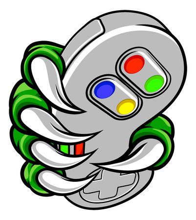 Gamer Claw Video Game Controller Monster Hand
