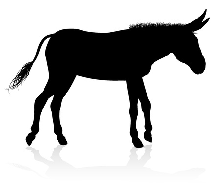 Donkey Animal Silhouette