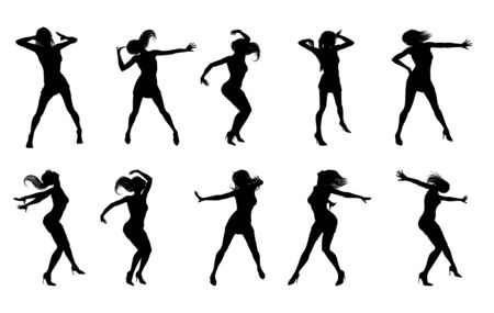 Dance Dancer Silhouettes