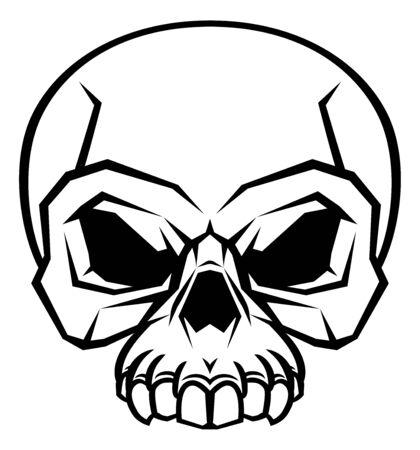 Skull Design Vecteurs