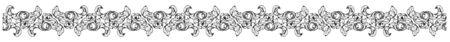 Art Nouveau Border Band Frame Floral Motif Pattern