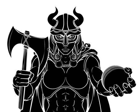 Viking Female Gladiator Cricket Warrior Woman